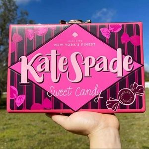 NWT Kate Spade ♠️ Candy 🍬 Clutch